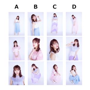 生写真1セット3枚入り 全12種類(ランダム販売)
